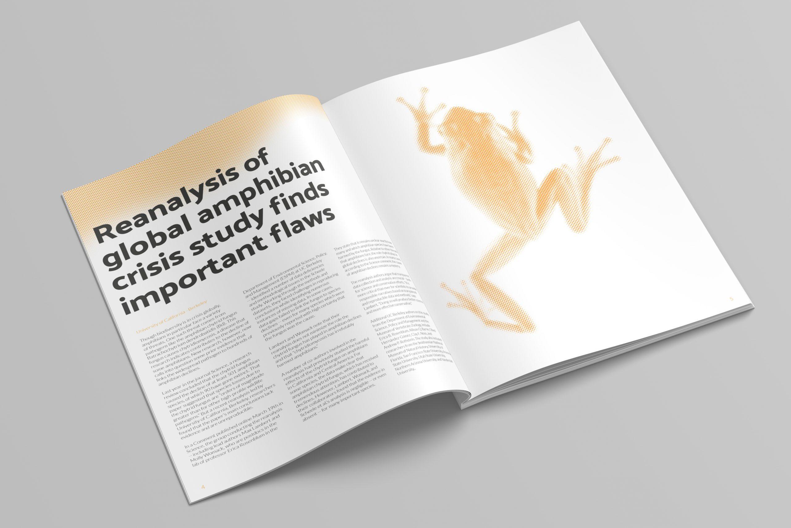 GEC Newsletter Amphibian Spread