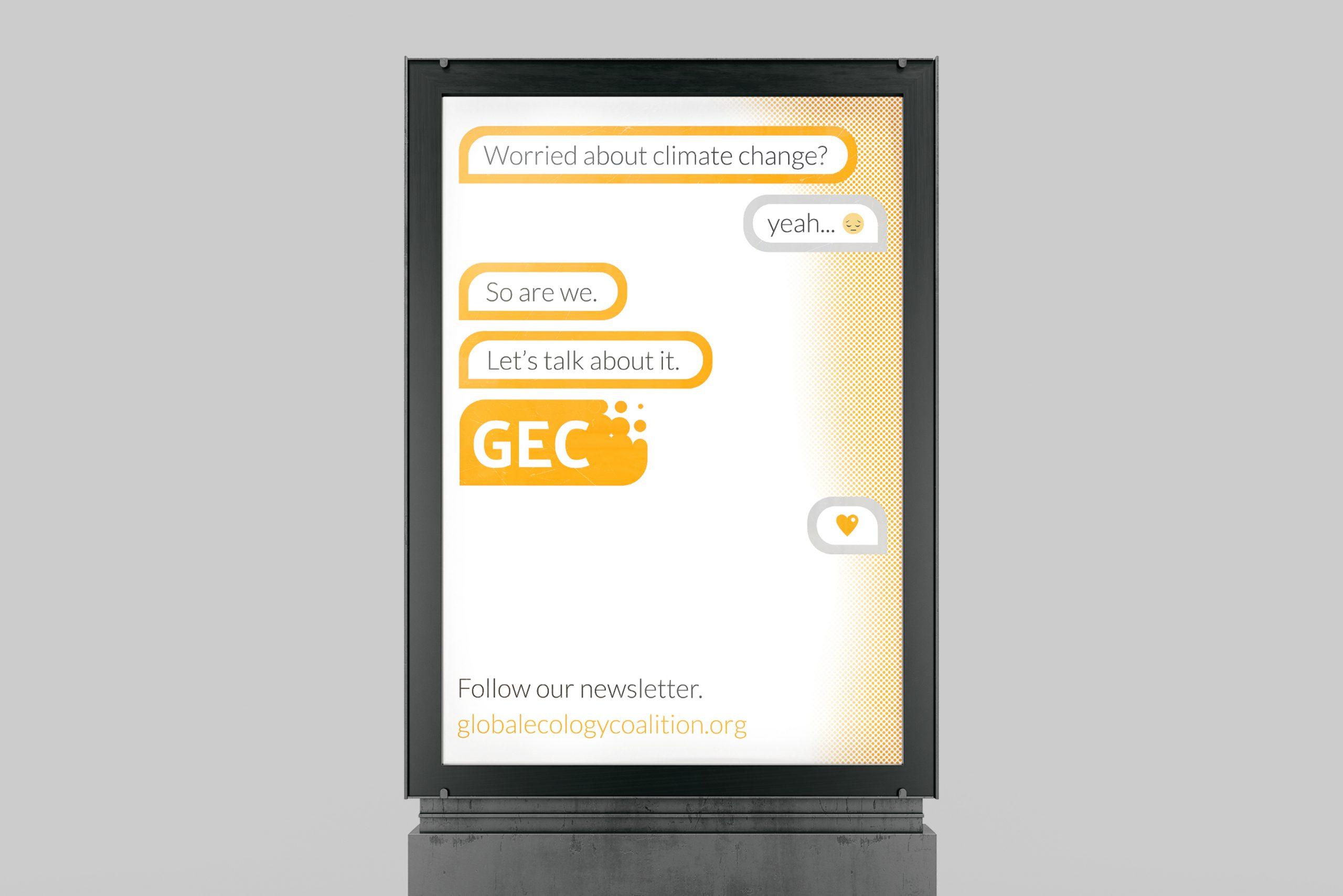 GEC Poster in Lightbox